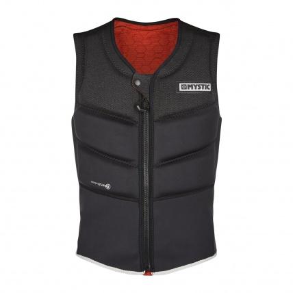 Mystic Foil Kitesurf Impact Vest in Black Front