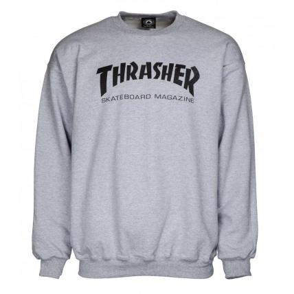 Thrasher Crew Thrasher Skate Mag Sweater Grey