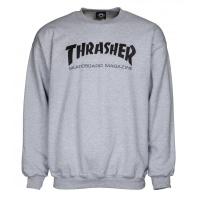 Thrasher - Crew Thrasher Skate Mag Sweater Grey