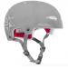 Rekd Protection Elite Icon Grey Semi-Transparent Helmet