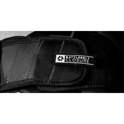 Mystic Dutchess Grey Womens Waist Kitesurf Harness battle belt closure