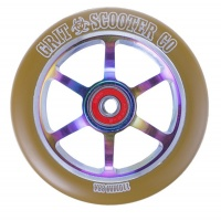 Grit Scooters - 6 Spoke Gum on Neochrome ACW 110mm Wheel