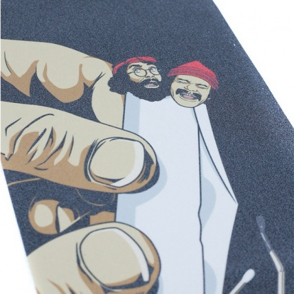 Primitive Cheech and Chong Up in Smoke Griptape Close Up