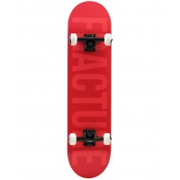 Fracture - Fade Red Complete Skateboard 7.75