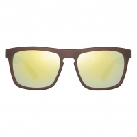 Sinner - Thunder Cry Matte Brown Revo Sunglasses