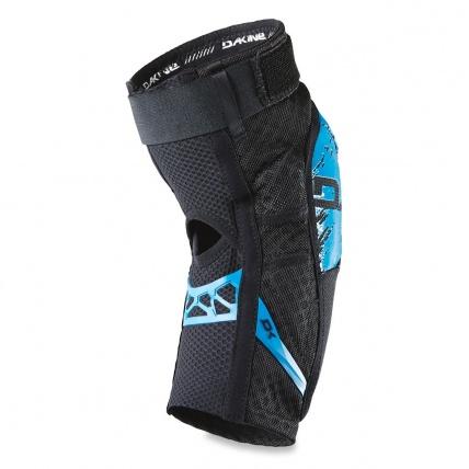 Dakine Hellion Knee Pads in Blue back