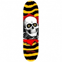 Powell Peralta - One Off Ripper Skateboard Deck Yellow 7in