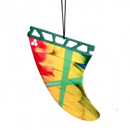 Fresh Kitesurfing Fin Parrot Air Freshener Caribbean Dream