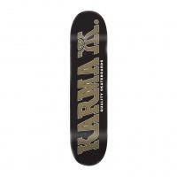 Karma - Kizzla 8.0in Black Skateboard Deck