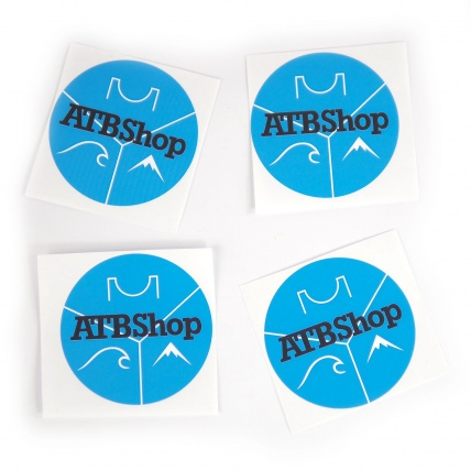 ATBShop Circle Stickers 4 Pack