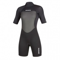 Mystic - Brand 3/2mm Womens Summer Short Wetsuit Black