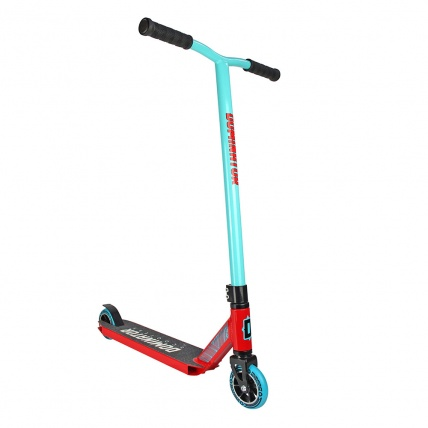 Dominator Ranger Stunt Scooter in Red and Teal