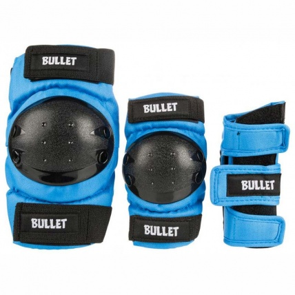 Bullet Combo Kids Wrist Guard, Knee and Elbow Pads Set