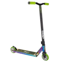 Crisp - Surge Colour Chrome Black Green Pro Scooter