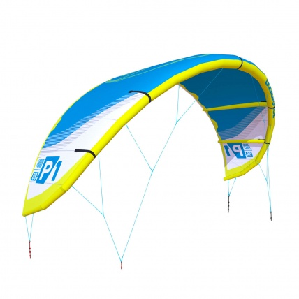 Liquid Force P1 v1 Kitesurfing KiteLight Blue