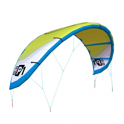 Liquid Force P1 v1 Kitesurfing Kite Lime