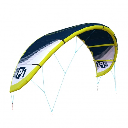 Liquid Force P1 v1 Kitesurfing Kite Dark Blue