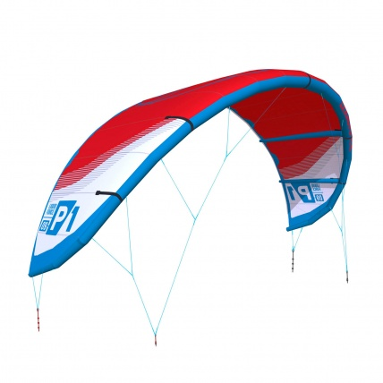 Liquid Force P1 v1 Kitesurfing Kite Red