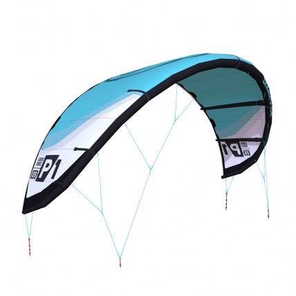 Liquid Force P1 v1 Kitesurfing Kite Teal