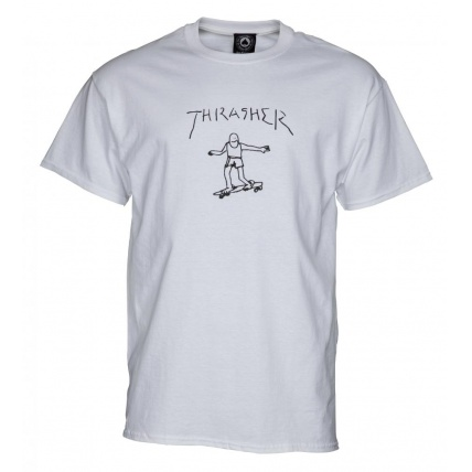 Thrasher Gonz T-Shirt White