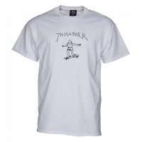 Thrasher - Gonz T-Shirt White
