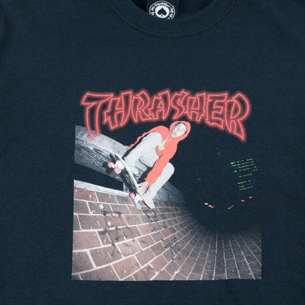 Thrasher China Banks T-Shirt Black