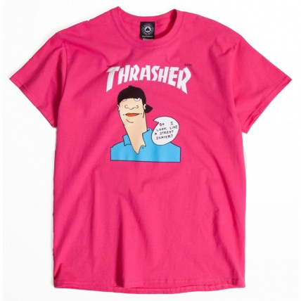 Thrasher Gonz Cover Pink T-Shirt