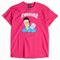 Thrasher - Gonz Cover Pink T-Shirt