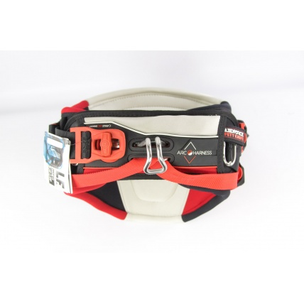 Liquid Force Arc Kitesurfing Harness in Red front
