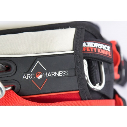 Liquid Force Arc Kitesurfing Harness in Red knife
