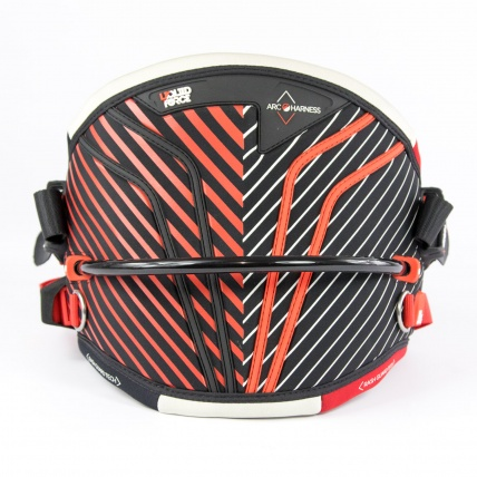 Liquid Force Arc Kitesurfing Harness in Red back