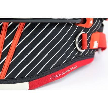 Liquid Force Arc Kitesurfing Harness in Red detail
