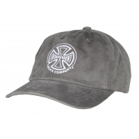 Independent - TC Twill Cap in Charcoal Grey