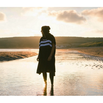 Northcore beach basha changing robe towel poncho
