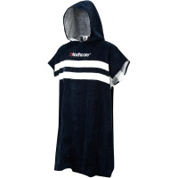 Northcore - Blue Stripes Beach Basha Changing Robe Poncho
