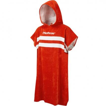 Northcore beach basha changing robe Red