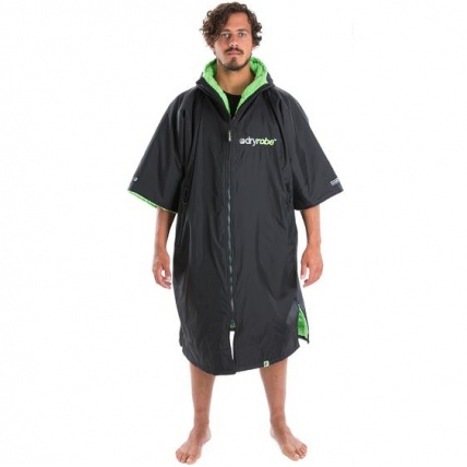 Advance Short Sleeve Changing Robe Black and Green