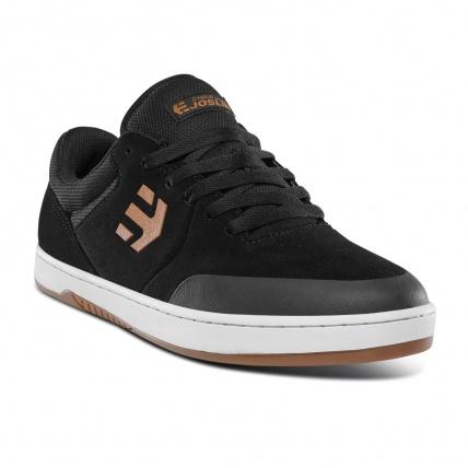 Etnies Marana Michelin Joslin Skate Shoe Black Tan front