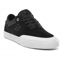 Etnies - Marana Vulc Black White Silver Skate Shoes