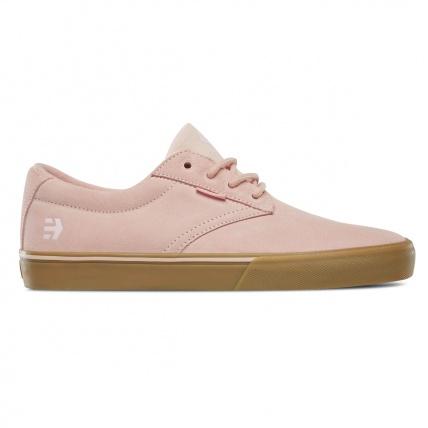 Etnies Jameson Vulc Skate Shoe in Pink side