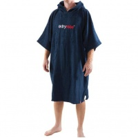 Dryrobe - Navy Blue Short Sleeve Towel Changing Poncho