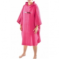 Dryrobe - Pink Short Sleeve Towel Changing Robe Poncho