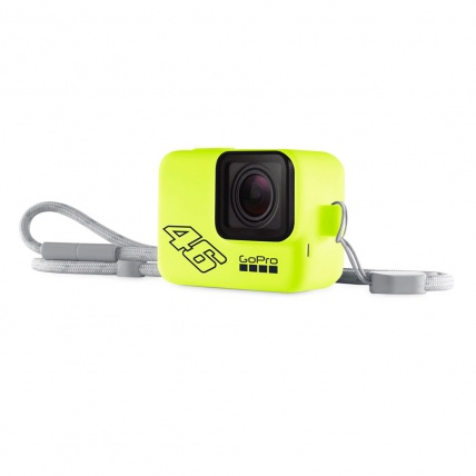 GoPro Sleeve and Lanyard Yellow Rossi 46