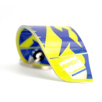 Fresh Kitesurfing 3D Kite Keychain Kitesurfer Gift Keyring Fone Bandit