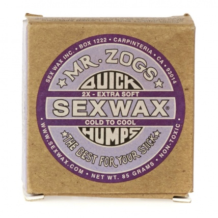 Mr. Zogs Sex Wax Surf Wax 85g Purple Cold to Cool