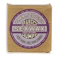 Mr Zogs Original Sex Wax - Quick Humps Surf Wax 85g Purple Cold to Cool