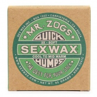 Mr Zogs Original Sex Wax - Surf Wax 85g Green Cool to Mid-Warm