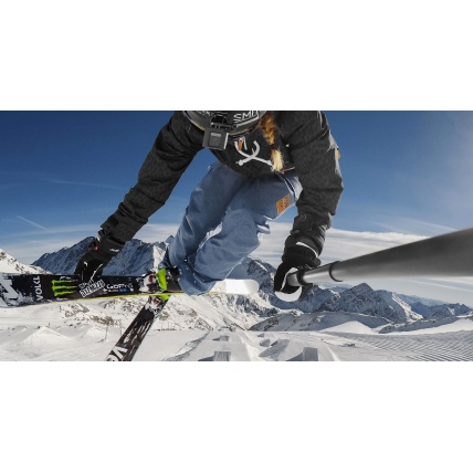 Ski and Board with El Grande Pole GoPro Selfie Stick