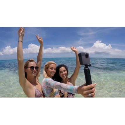 GoPro Fusion 360 Action Sports Camera in use at the beach