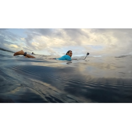GoPro Fusion 360 Action Sports Camera in use surfing waterproof up to 5m (16ft)